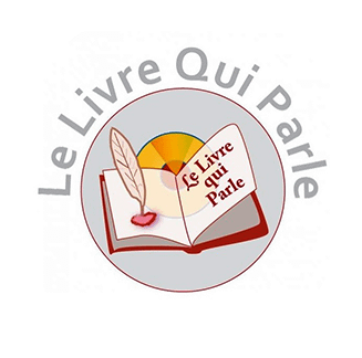 le livre qui parle logo